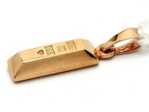 Hänge guldtacka 18K