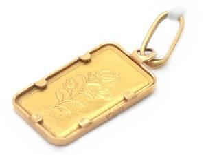 Hänge med Guldtacka