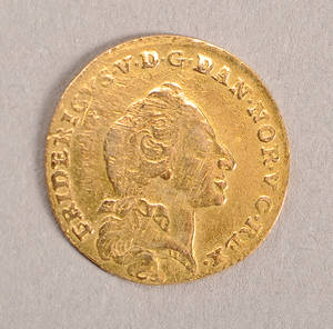 Danmark. 1 kurantdukat 1761 guld