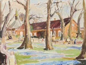 Oljemålning, Evald Björnberg 1895-1974