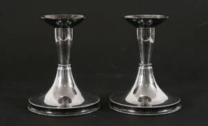 Ljusstakar ett par, silver, Tesi, 1971