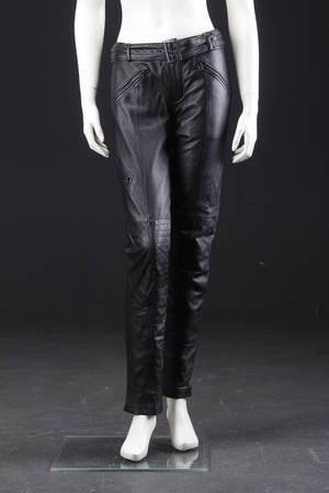 Part Two og Sexy Woman, to par bukser, læder mm., str. 34-36 2