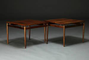 Dansk møbelproducent. Par lampebordesideborde 2