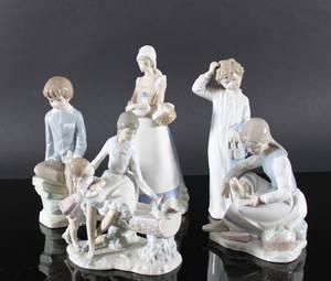 Spanska figuriner, Nao, Rex och Zaphir 5