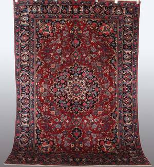 Persisk Mashad, 283 x 200 cm