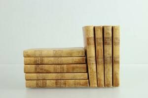 SELMA LAGERLÖF, böcker, 9 st, helfranska band