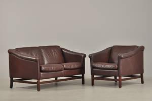 Stouby møbler To pers. sofa samt hvilestol 2
