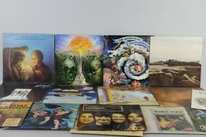 VINYLSKIVOR, 15 st, LP, bl.a. The Moody Blues, The Mama  The Papas