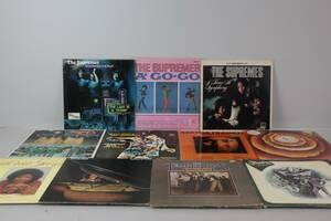 VINYLSKIVOR, 11 st, LP, bl.a. The Supremes, Aretha Franklin, Stevie Wonder, Gloria Gaynor