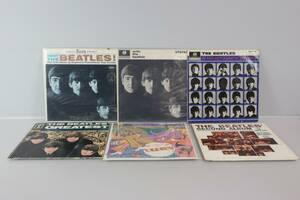 THE BEATLES, vinylskivor, 6 st, LP