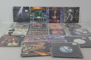VINYLSKIVOR, 18 st, singlar, bl.a. Iron Maiden, ACDC, Saxon, Dead, Alice Cooper
