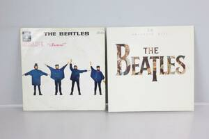 THE BEATLES, vinylskivor, 2 st