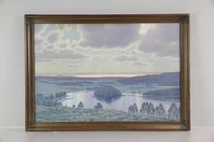 DAVID SÖDERHOLM 1883-1961, akvarell