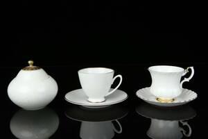 DEL av kaffeserviser, Rosenthal, Hackefors, Royal Albert