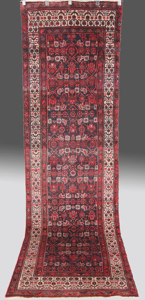 Persisk Hamadan, 350 x 100 cm