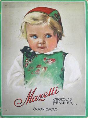 Reklamplansch, Mazetti