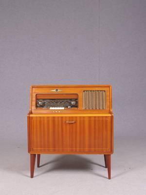 DUX V 1373, radiogrammofon, 1950-tal