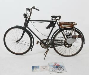 Cykel med påhängsmotor