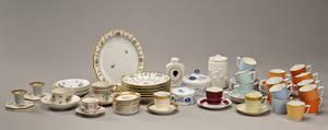 Kgl. P. Diverse porcelænsdele 61