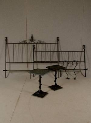 DISE, Sängstomme, Sängbord, samt Ljushållare, 2000-tal, 6 delar