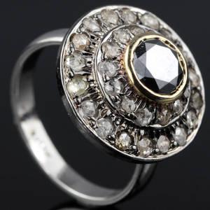 Diamant ring ca. 1.91 ct.