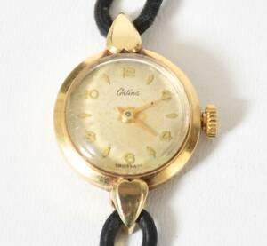 Armbandsur, Dam 14-k guld