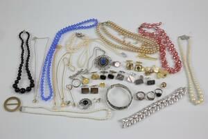 PARTI med bl.a. colliérer, manschettknappar, armring och ringar, bl.a. silver