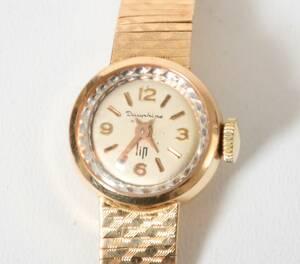 Armbandsur, dam 18-k guld