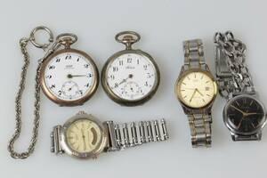 FICKUR, 2 st, Tissot resp Billodes, klockkedja samt armbandsur, 3 st, Casio, Citizen, Ceventic