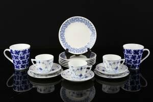 MUGGAR, ett par, Marianne Westman, samt assietter, 6 st, Rörstrand, och kaffegods, 3 st, assietter 2 st, Bing  Gröndahl