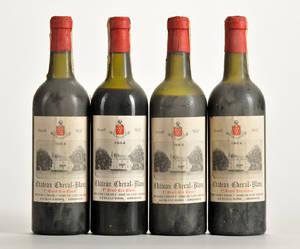4 fl. Chateau Cheval Blanc 1964 Saint-Emilion 1. Grand Cru Classé