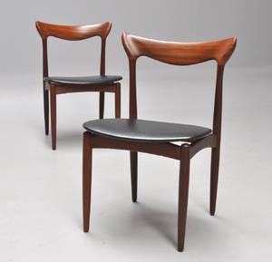 H. W. Klein. Par stole af teaktræ 2