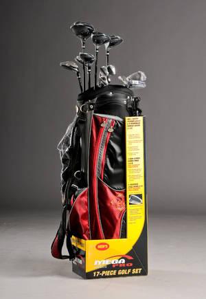 Komplet Golf sæt. Golden Bear Mega Pro 460