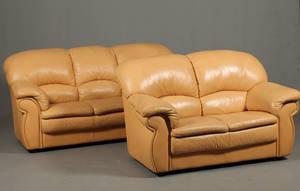Piquattro. Sofasæt bestående af 32 pers. sofaer 2