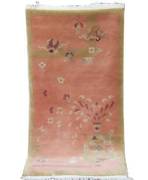 Handknuten matta, Kina
