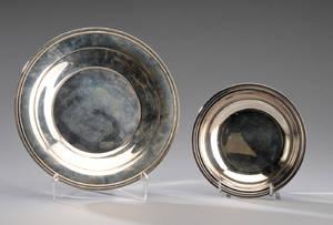 Cohr. Fad samt skål af sølv 2