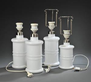 Sidse Werner for Holmegaard. Fire Apoteker bordlamper 4