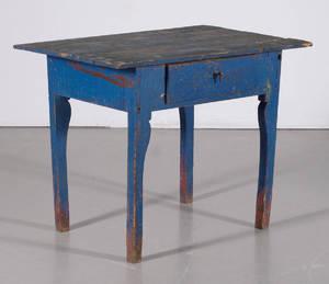 Bord med låda Allmoge 1800-tal